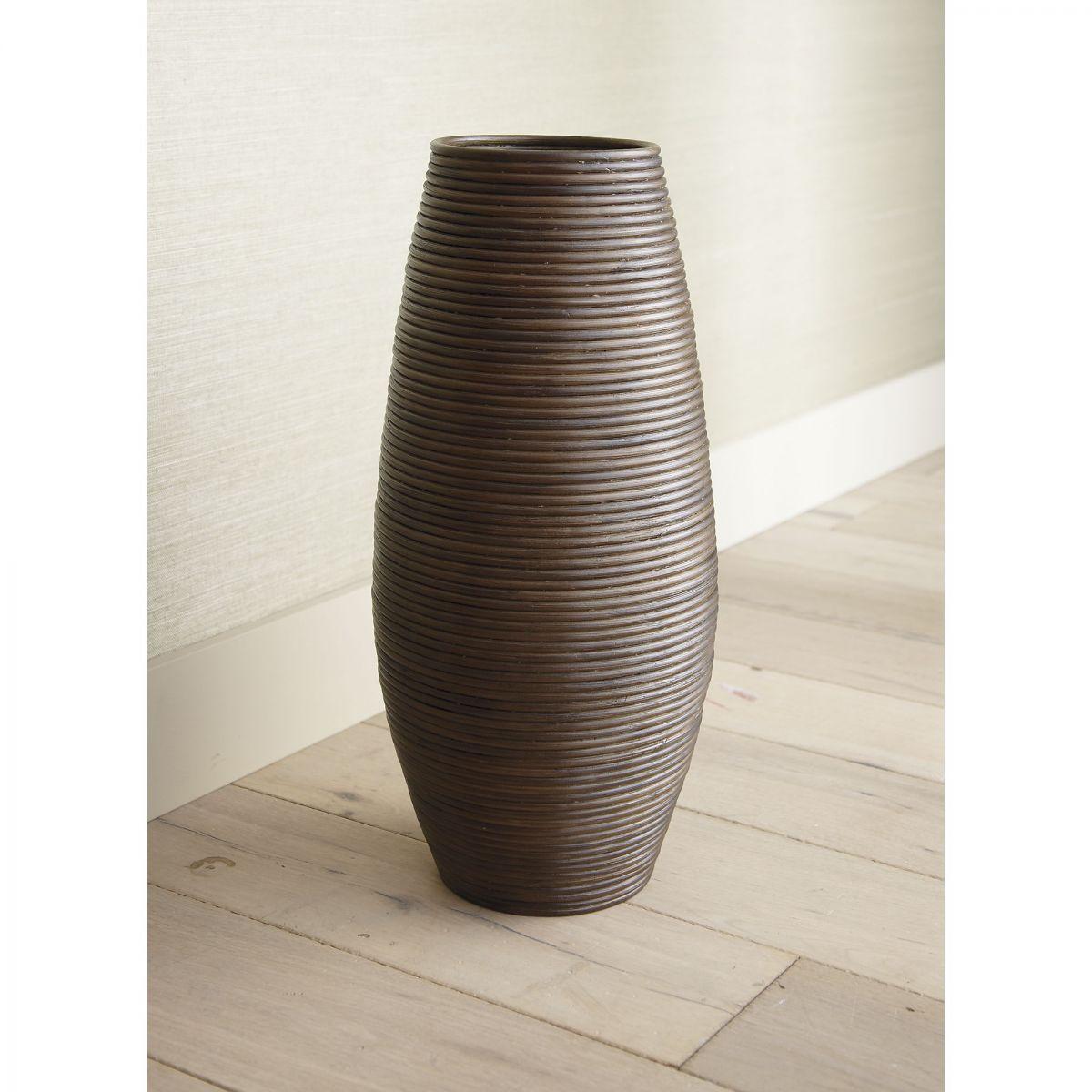 DoanKet I on orange floor vase, mid century orange ceramic vase, floor candle holder vase, wicker floor vase, floor urn vase, floor glass vase,